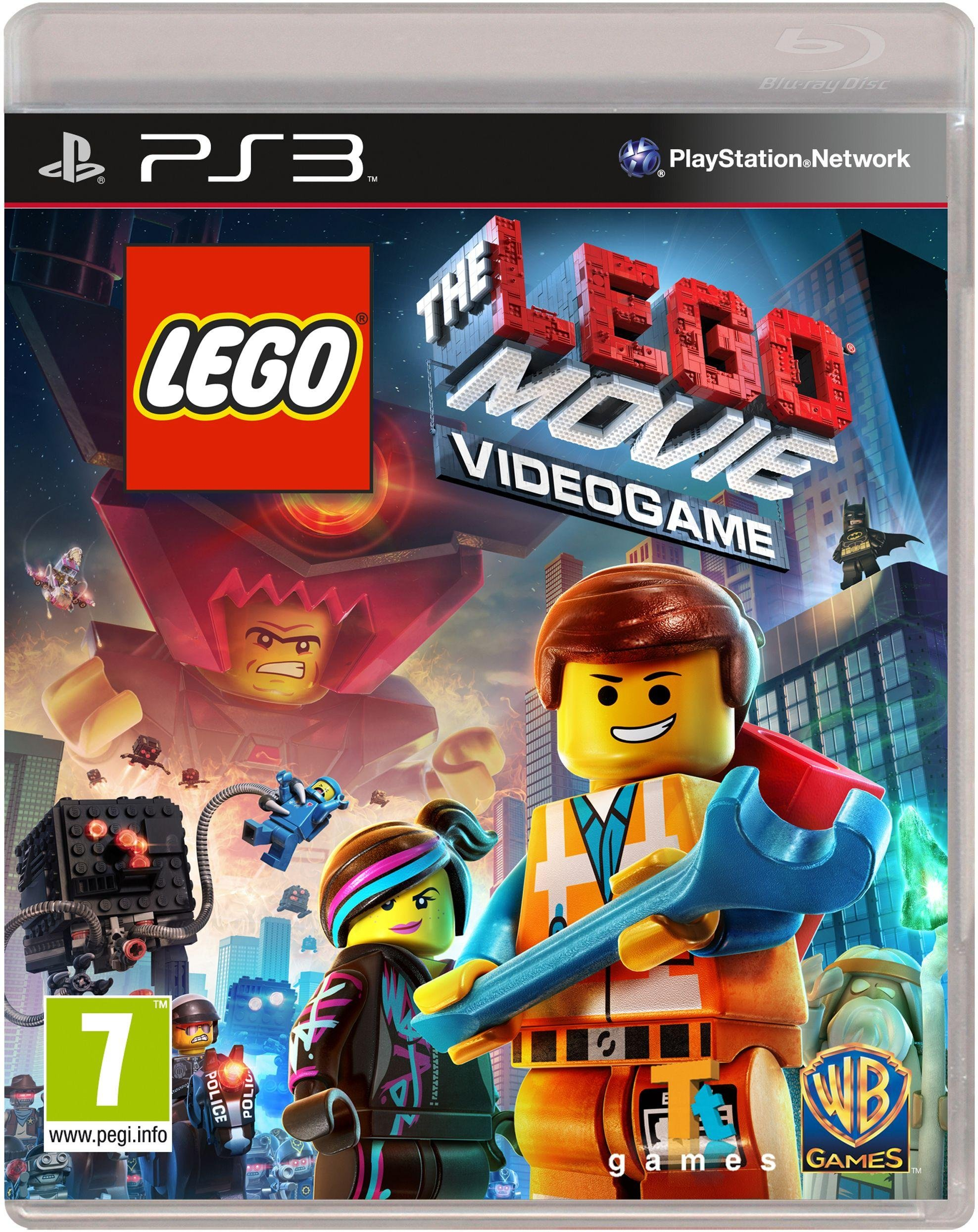 Image of LEGO Movie: The Videogame PS3 Game.