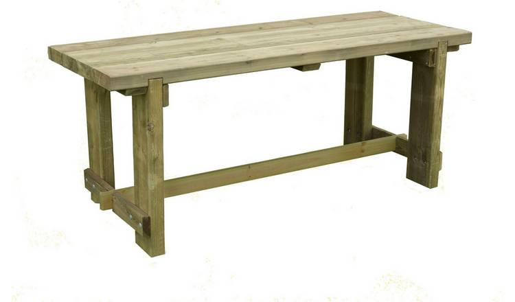 Buy Forest Refectory Table 18m Garden Tables Argos