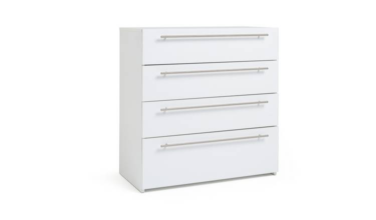 Habitat Atlas 4 Drawer Chest - White