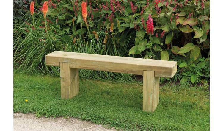 Forest Wooden 2 Seater Garden Bench 2