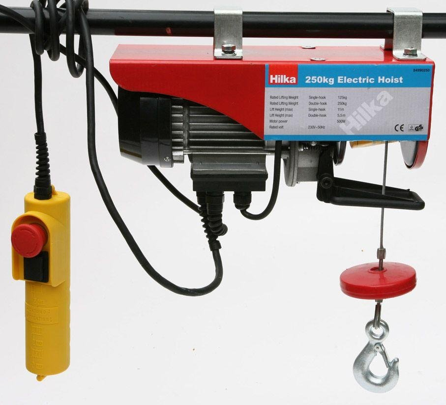 250kg Electric Hoist.