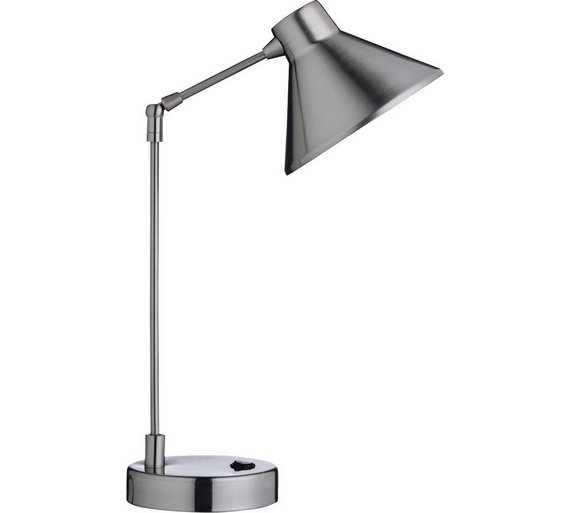 Habitat bobby desk lamp steel
