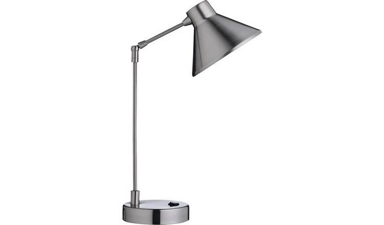 Buy Habitat Bobby Desk Lamp Steel Desk Lamps Argos