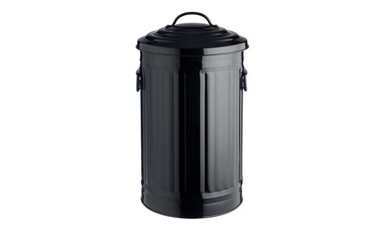 Habitat Alto 32 Litre Kitchen Bin - Black