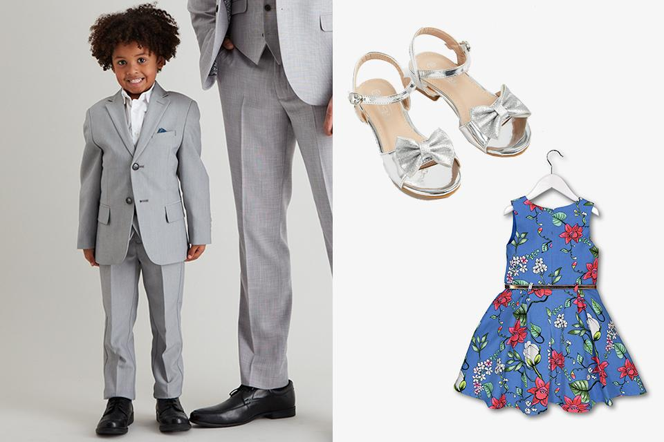 Wedding guest outfits for kids.