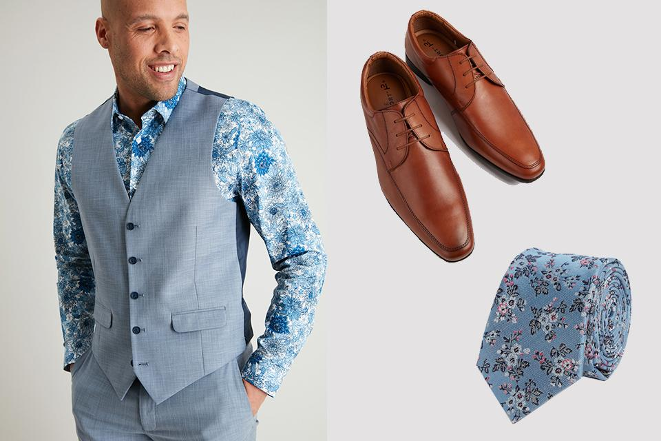 Wedding guest outfits for him.