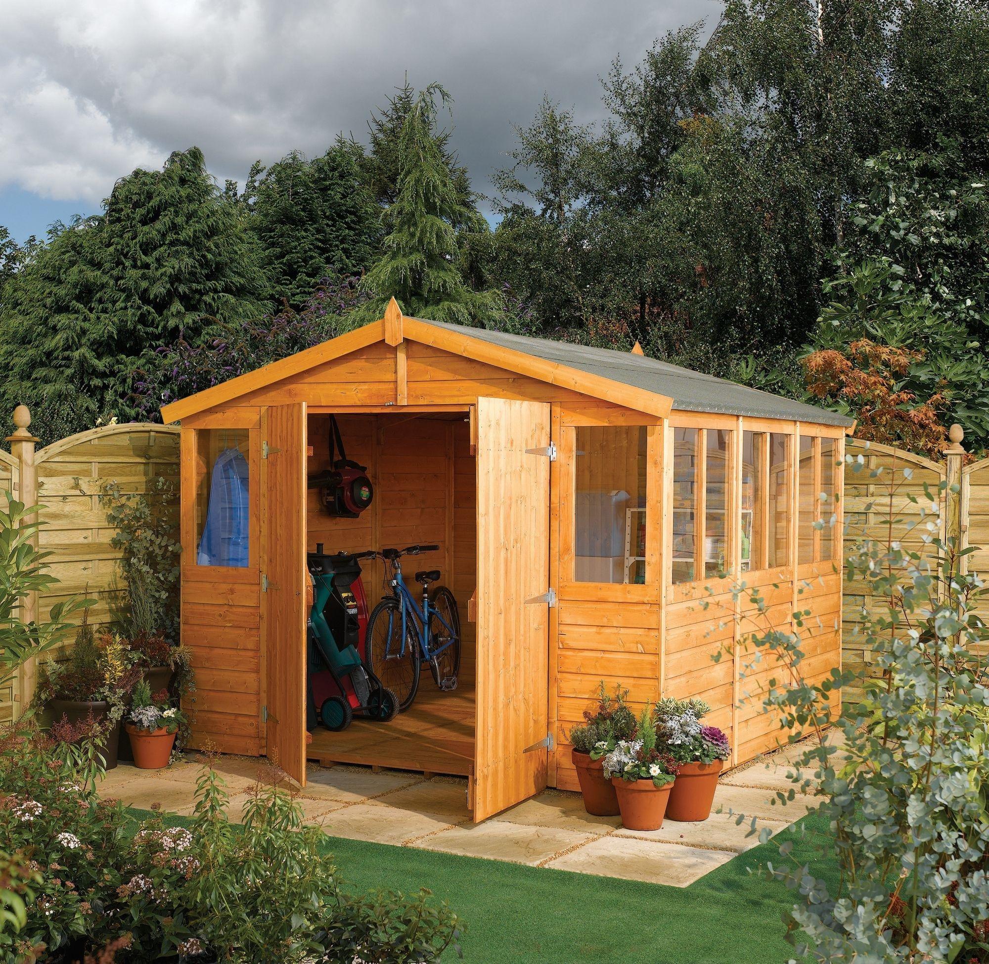 Rowlinson - Wooden Workshop - 9 x 18ft