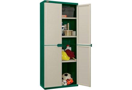 Image of the Keter Medium Plastic Utility Storage Unit - Cream.