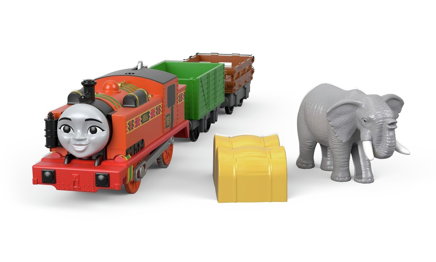 Thomas & Friends Thomas Mororised Nia and Elephant