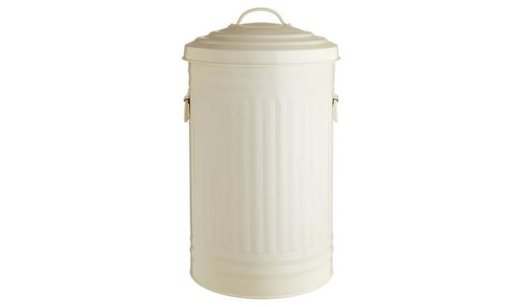 Habitat Alto 52 Litre Kitchen Bin - Cream