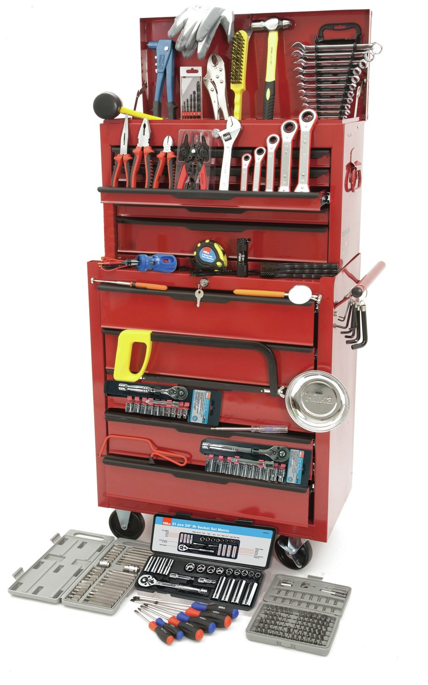 Hilka 270 Piece Tool Chest Kit