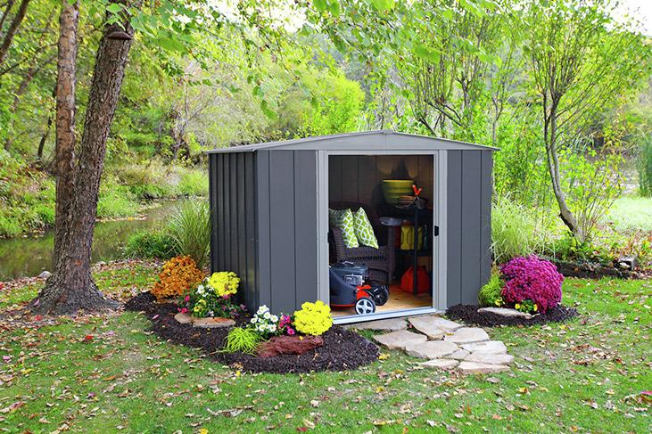 Shop for metal sheds.