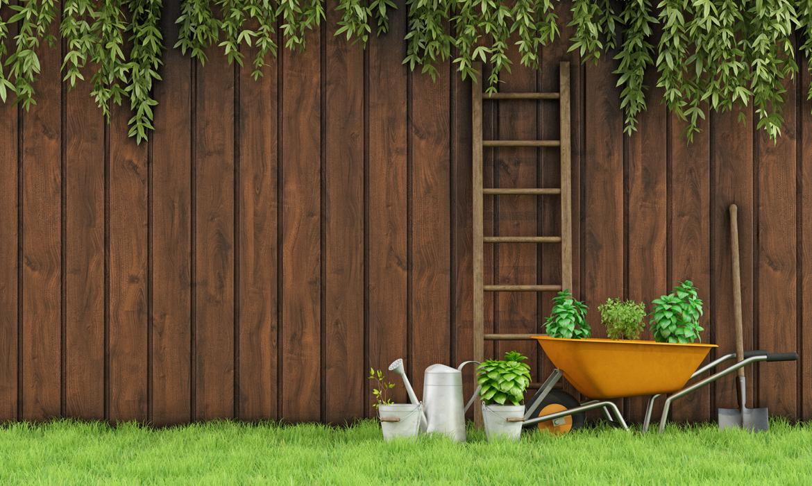 Garden fencing ideas.