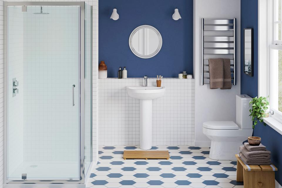 8. Create a wet room.