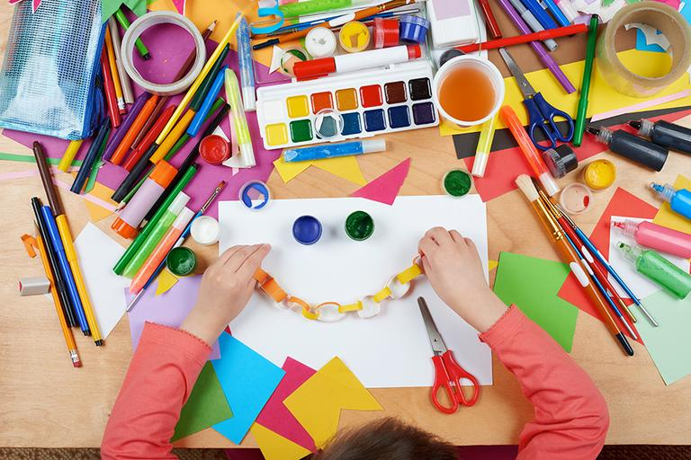 Craft ideas for kids. Everything you need to get creative with arts and crafts at home.