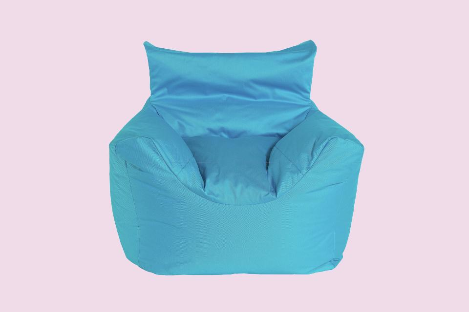 Buy Argos Home Kids Funzee Blue Bean Bag Chair | Bean bags
