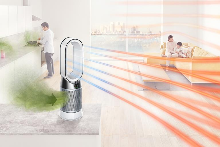 Dyson Pure Hot + Cool.