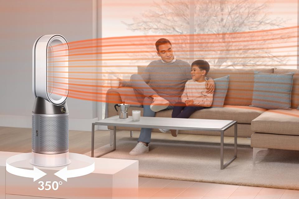 Shop Dyson whole-room purifiers.