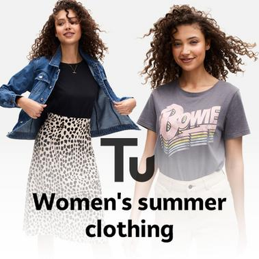 Women's summer clothing.
