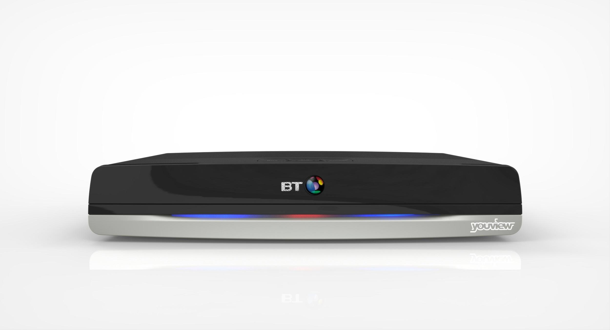 BT BT DTR-T2110 500GB Youview+ HD Smart TV Recorder.