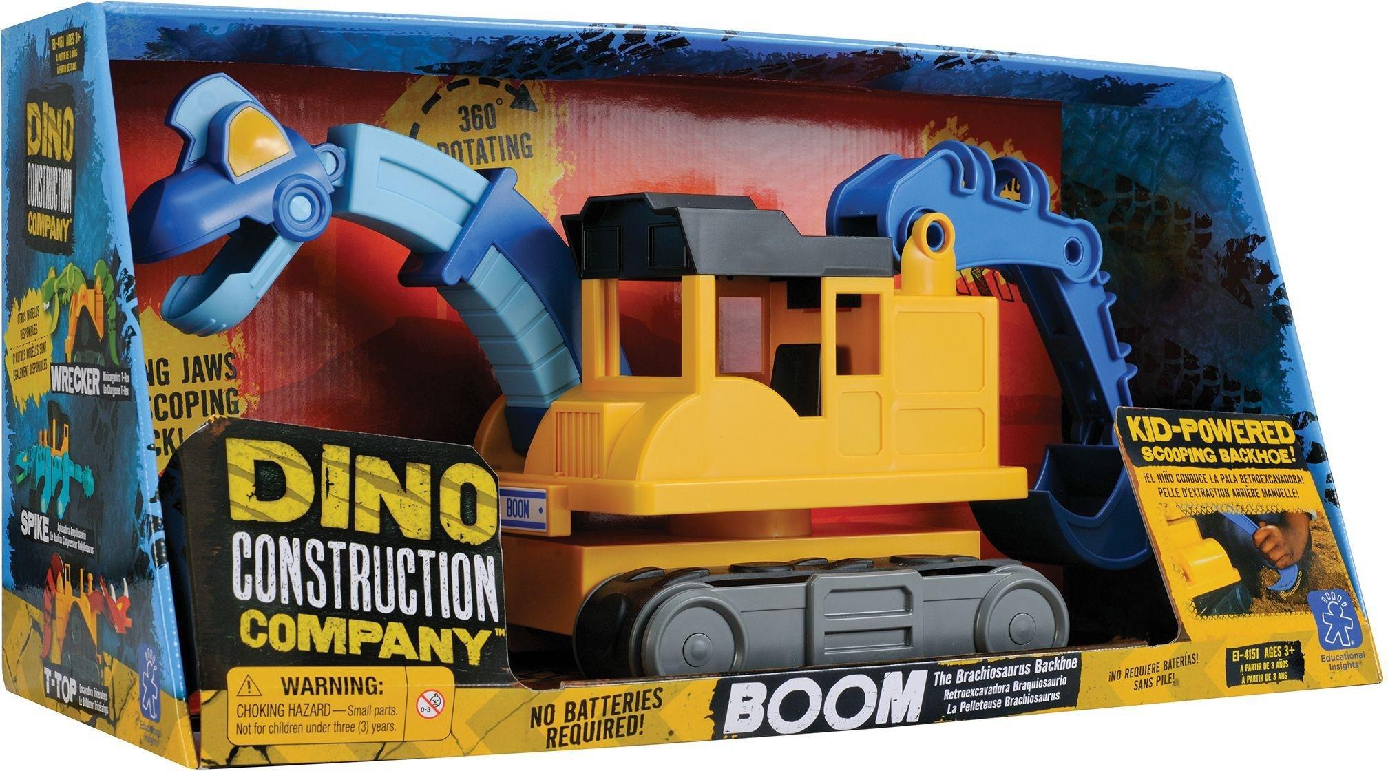 Learning Resources Ltd - Brachiosaurus Backhoe Toy.