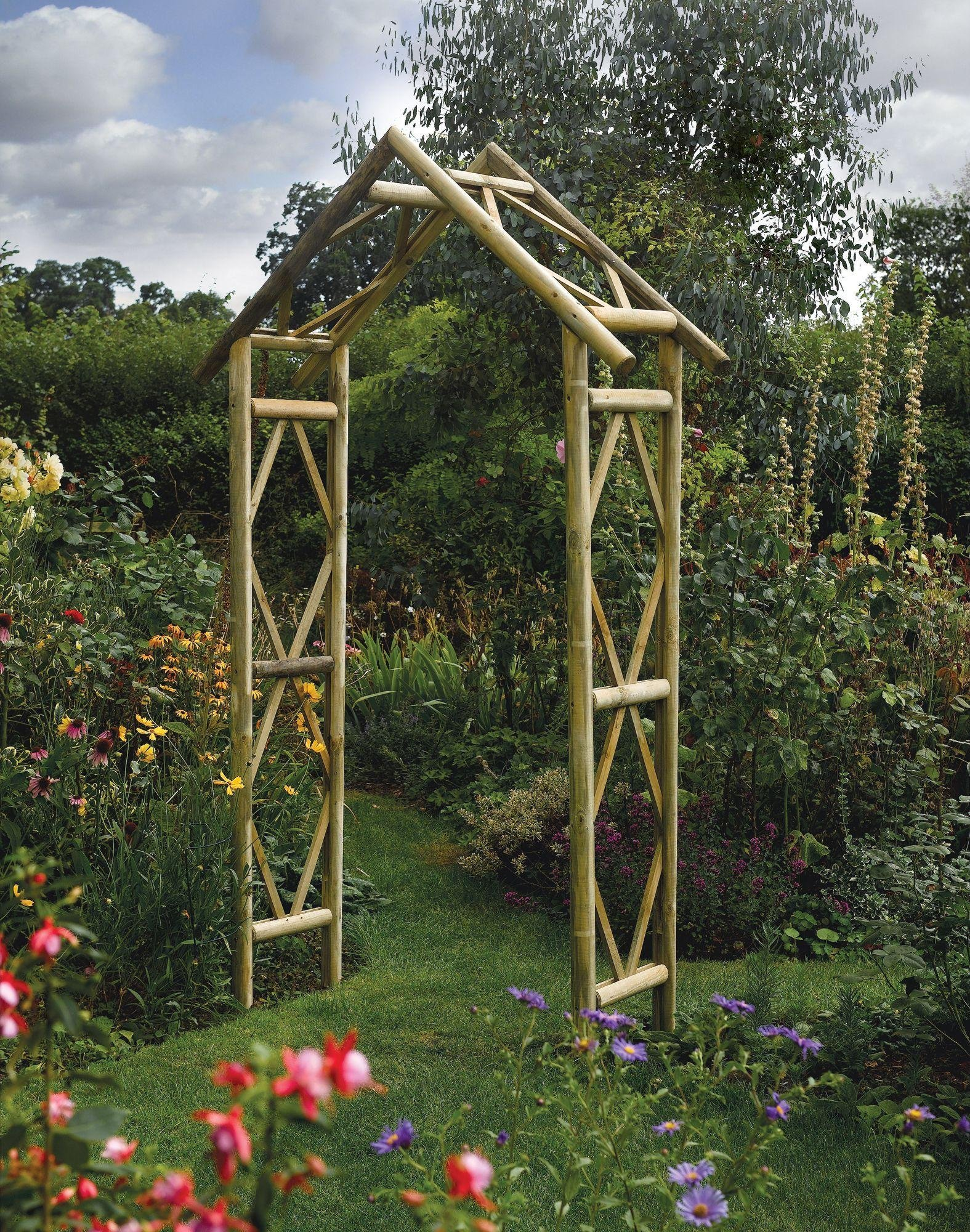Rustic Garden Arch. lowest price