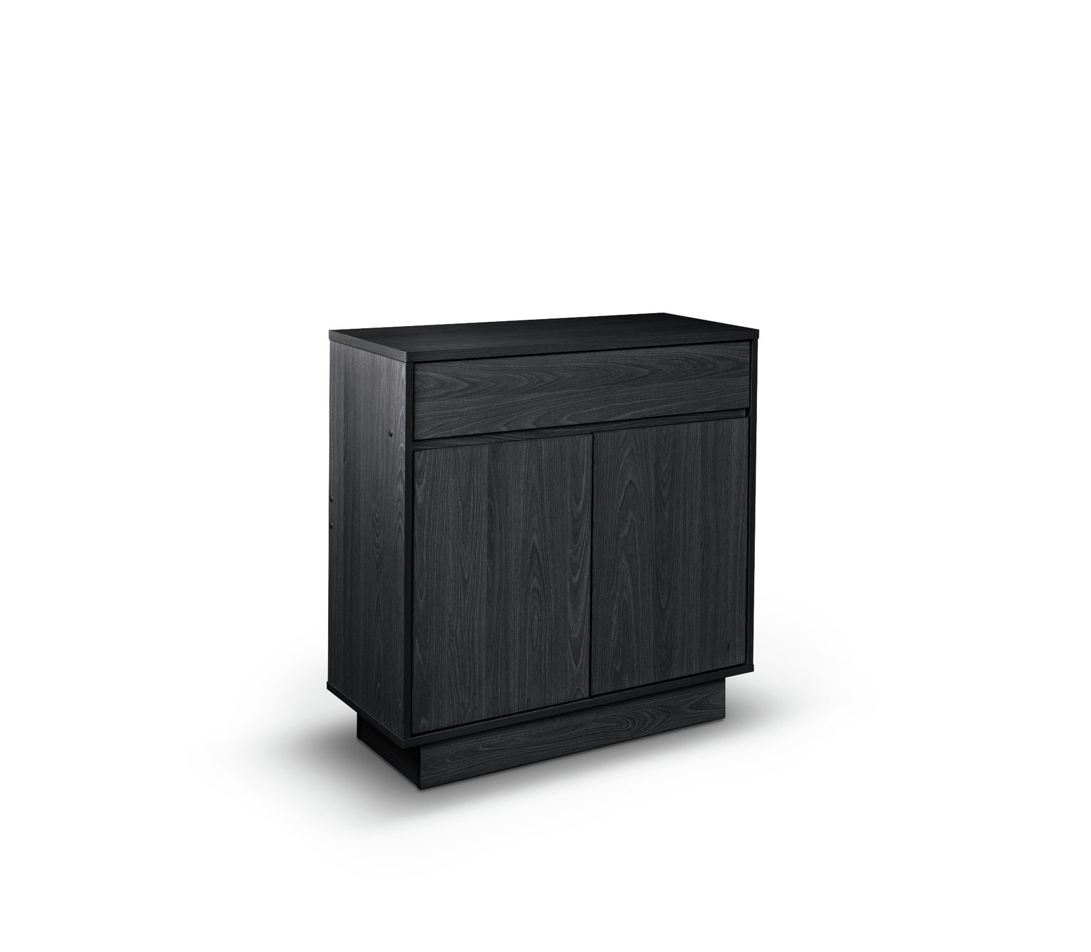 Argos Home Cubes 2 Door 1 Drawer Sideboard -Black Ash Effect