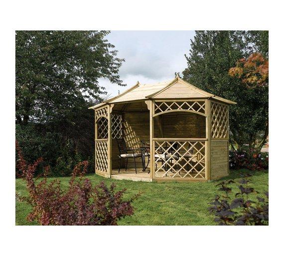 Buy Sandringham Octagonal Garden Gazebo