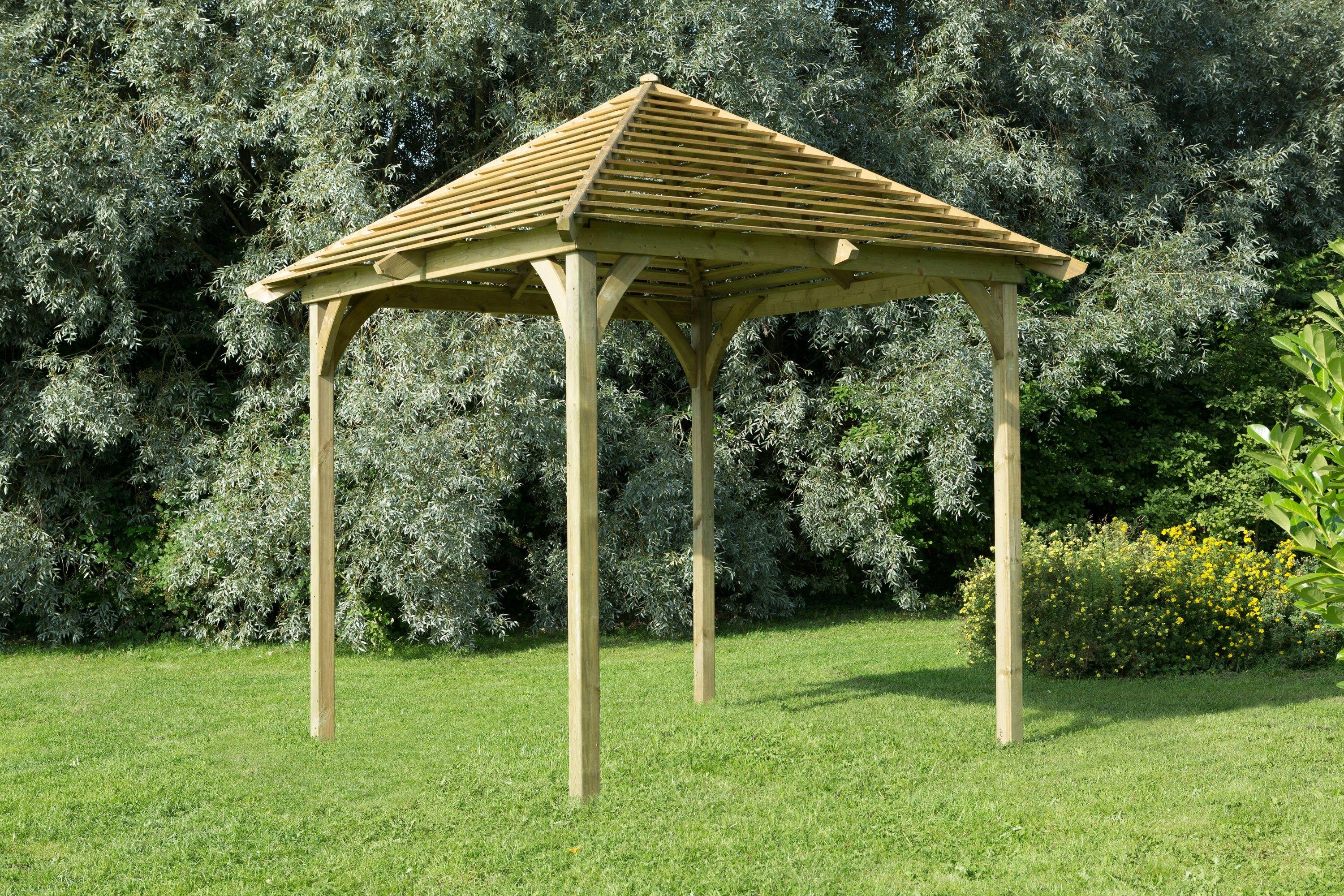 Forest Venetian Pergola without Deck.