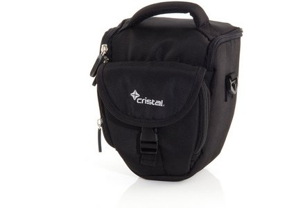 Cristal Bridge Camera Case in black.