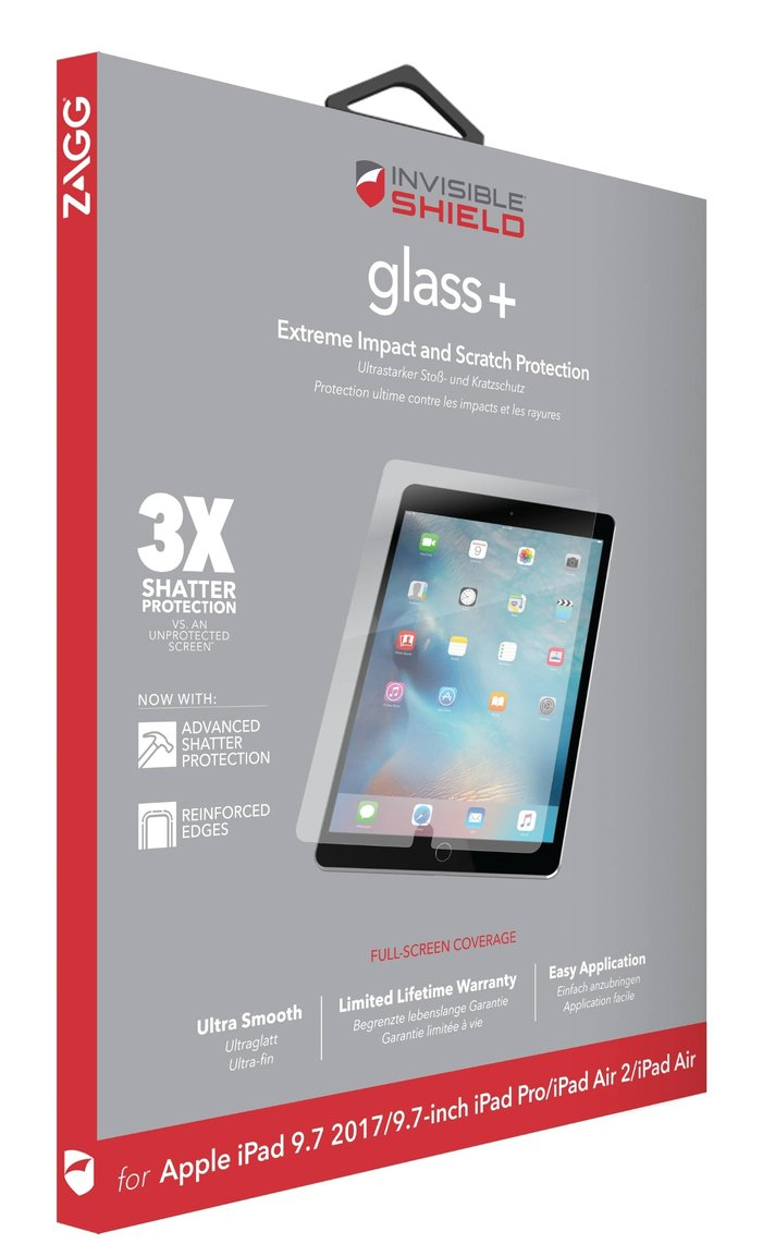 Zagg InvisibleShield Apple iPad 9.7 Inch Screen Protector