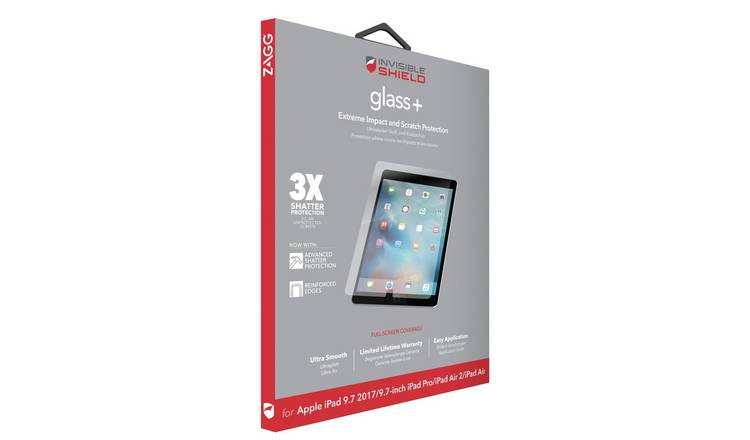 Zagg InvisibleShield Apple iPad 9.7 Inch Screen Protector