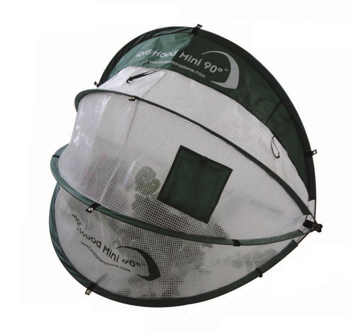 Image of Horti Hood Mini 90° Wall Mounted Folding Cloche.