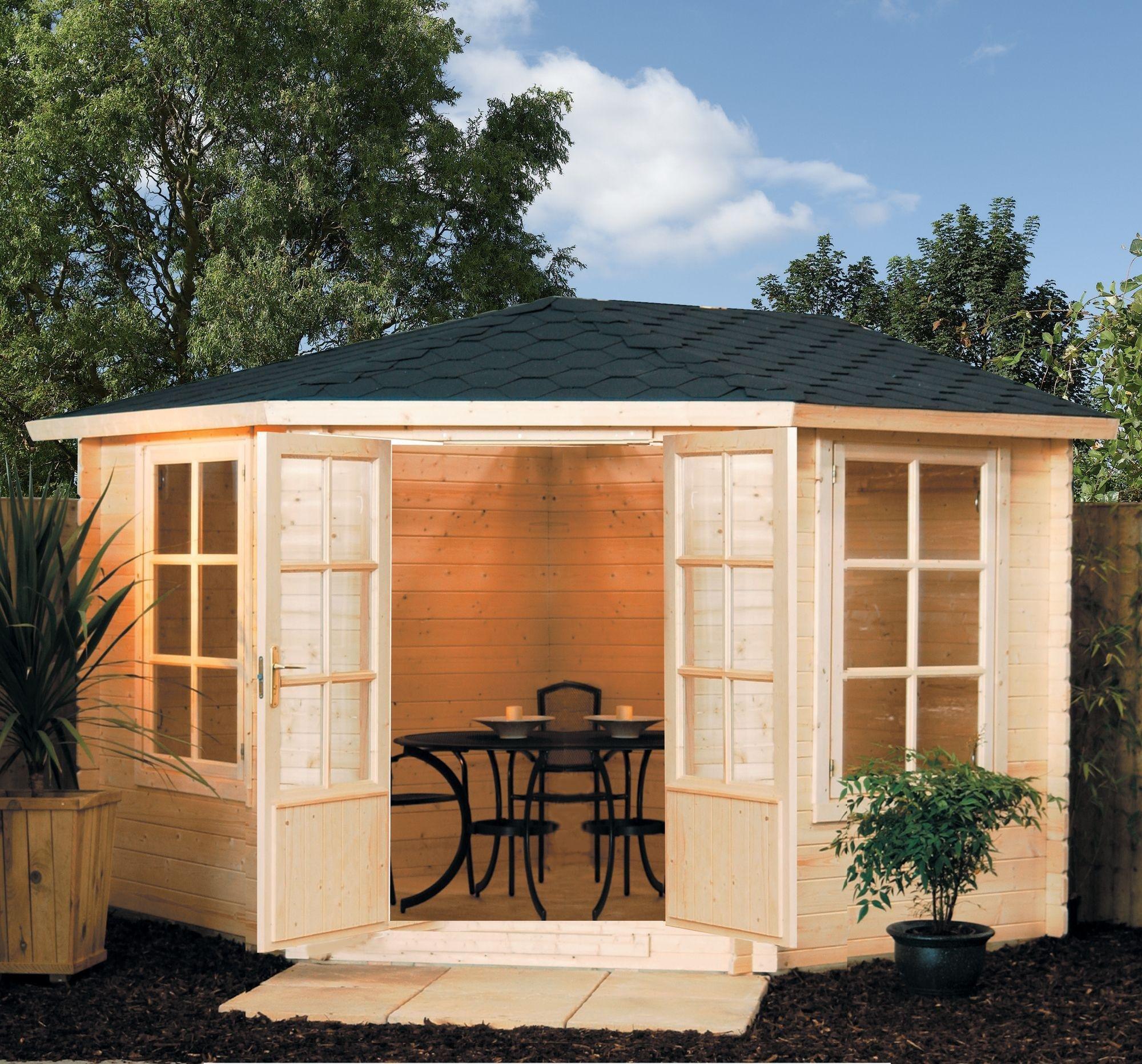 Kestrel Wooden Cabin - 10 x 10ft.