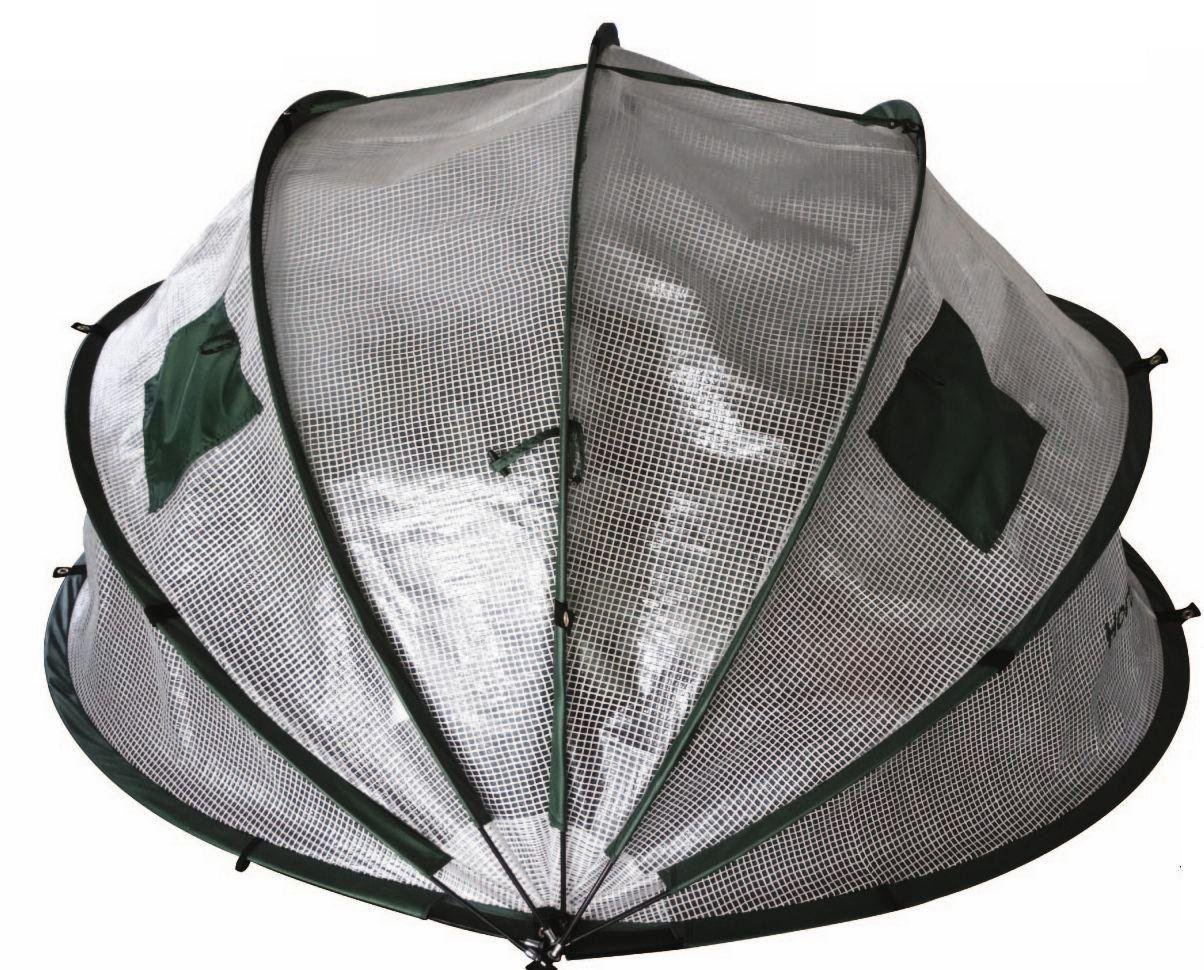 Image of Horti Hood Mini 180 Ground Anchored Folding Cloche.
