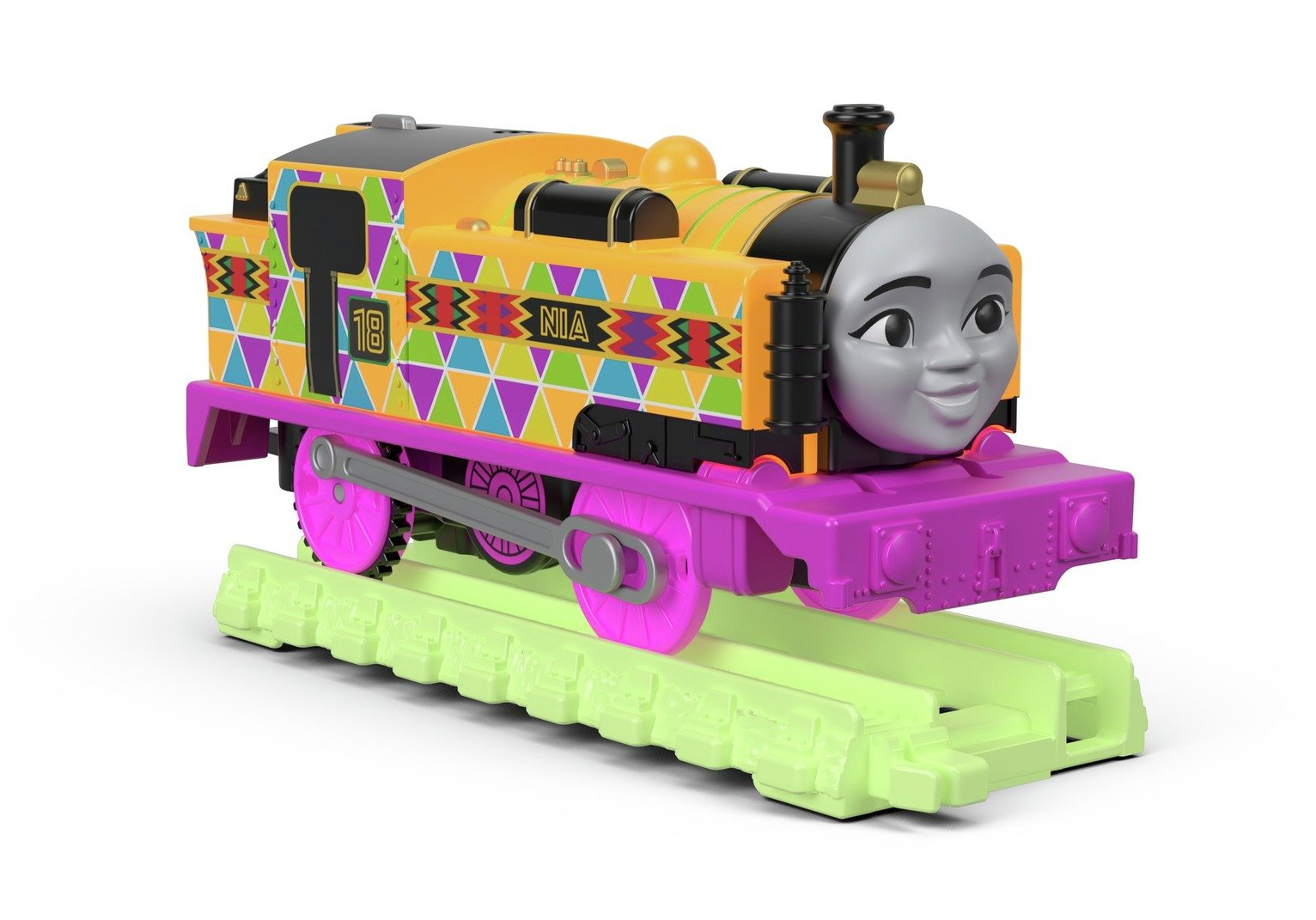 Thomas & Friends Thomas Hyper Glow TrackMaster Nia