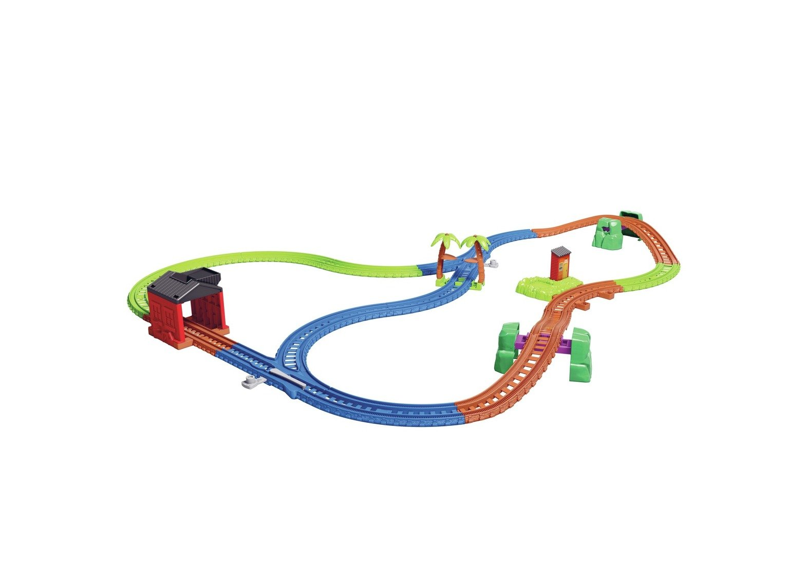 Thomas & Friends Thomas and Nia Cargo Delivery Playset
