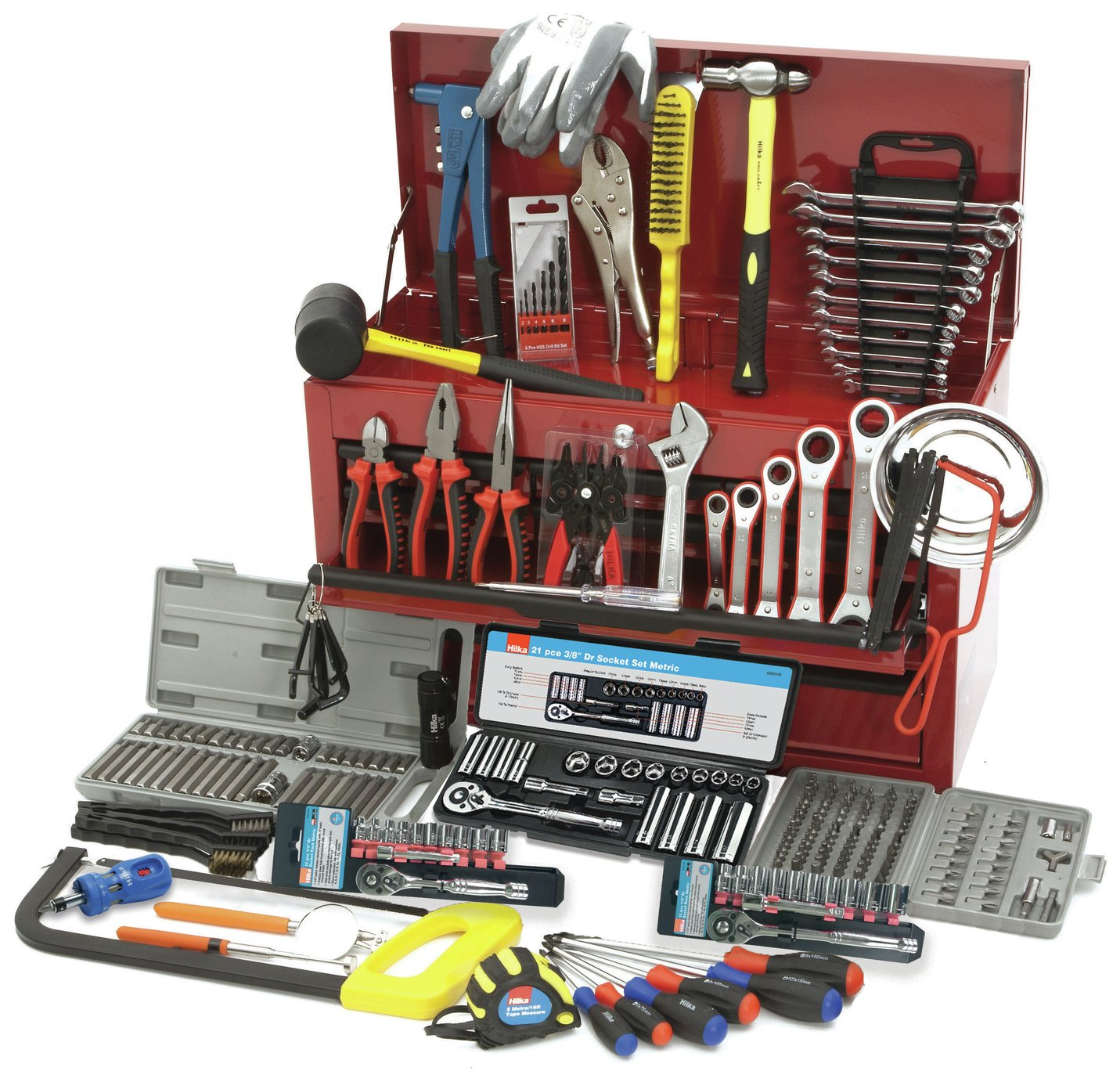Hilka 269 Piece Tool Chest Kit
