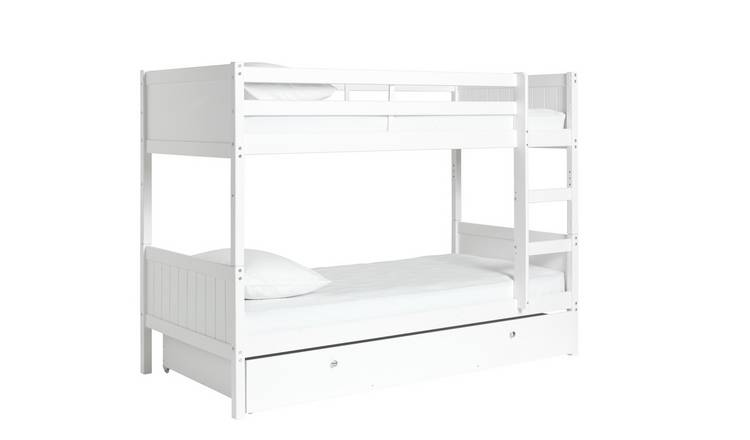Buy Argos Home Detachable White Bunk Bed With Storage Kids Beds