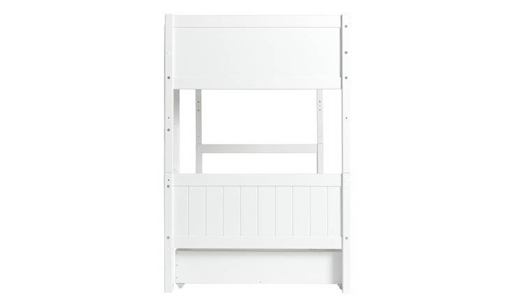 Argos Home Detachable Bunk Bed with Storage - White 2