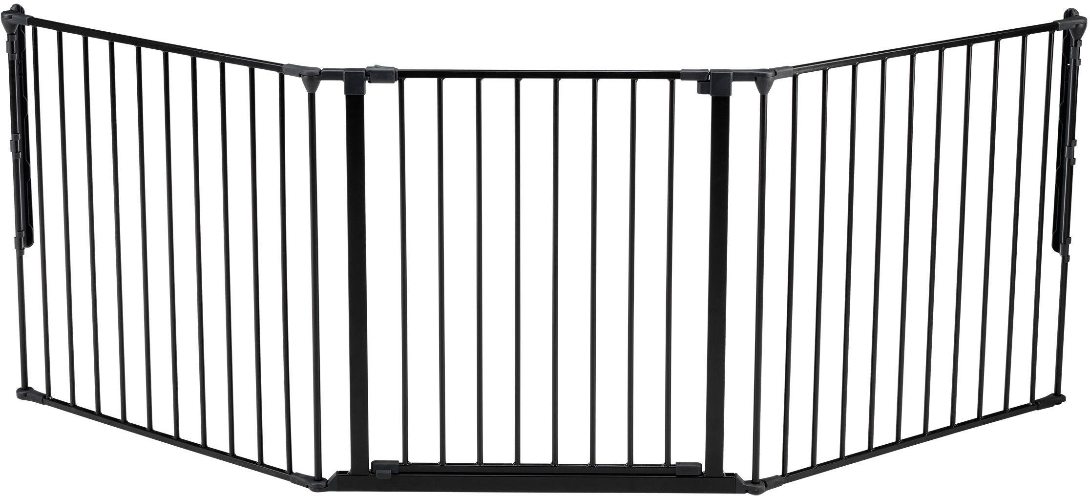 Image of BabyDan - Large Configure Gate - Black