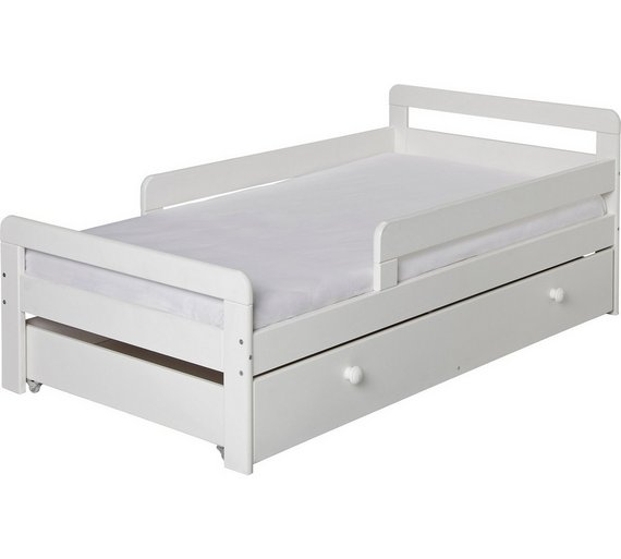 Buy HOME Ellis Storage Toddler Bed Frame