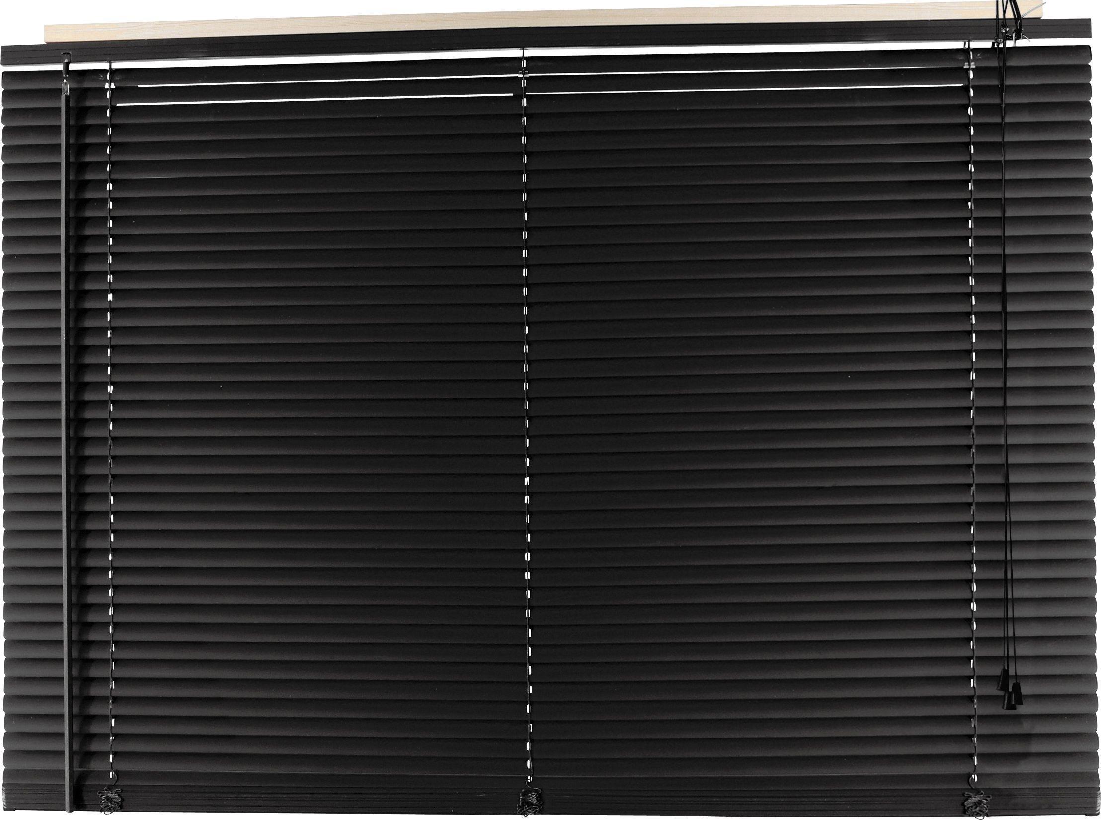 Argos Home 25mm PVC Venetian Blind - Jet Black