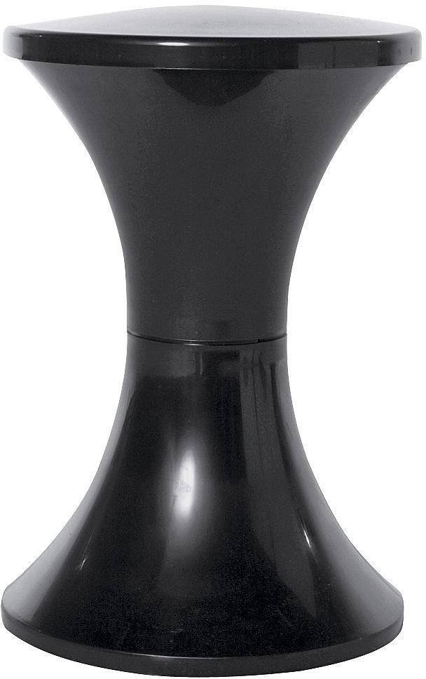 Habitat Tam Tam Plastic Stool - Black