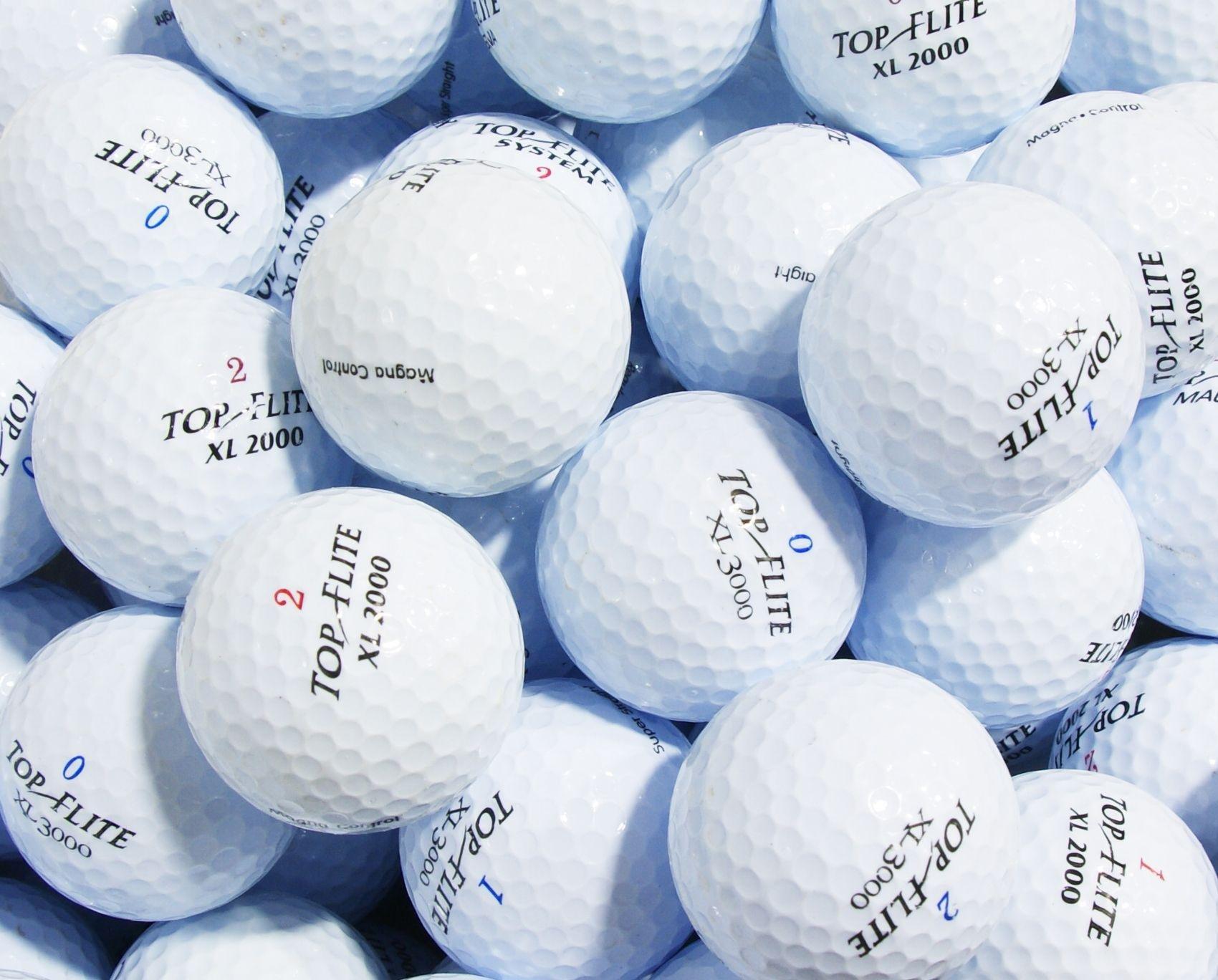 Top Flite 100 Lake Balls in a Box.