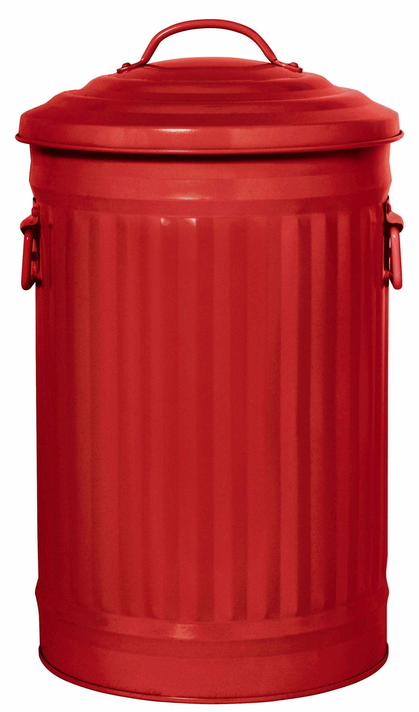 Image of Habitat - Alto 32L Red Kitchen Bin
