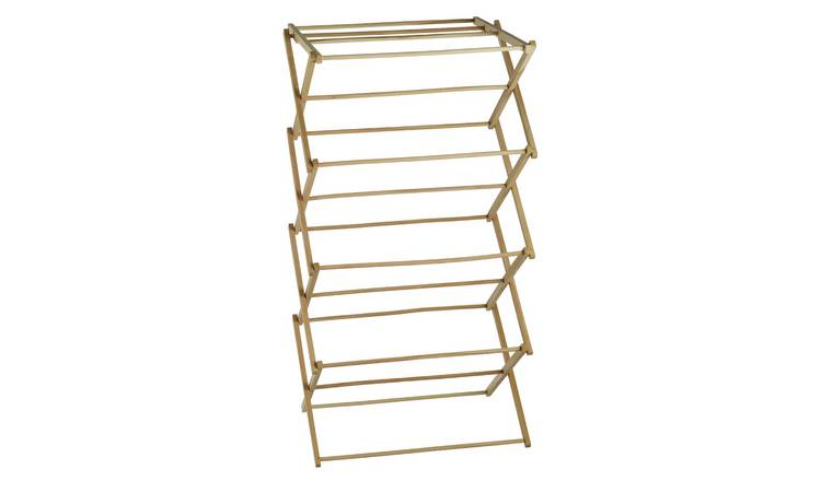 Habitat Misto 6m Wooden Indoor Clothes Airer