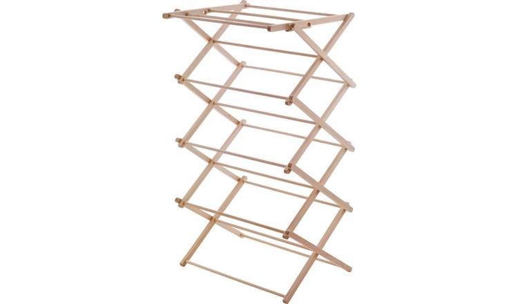 Habitat Misto 6m Wooden Indoor Clothes Airer By Habitat 1889048