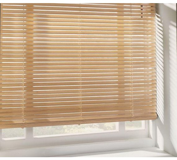 Buy Home Wooden Venetian Blind 4ft Natural At Argos Co Uk Your Online Shop For Blinds Blinds Curtains And Accessories Home Furnishings