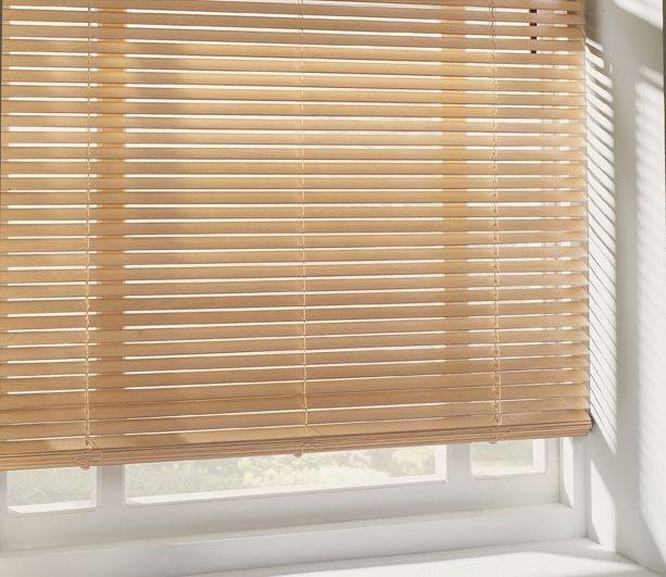 home wooden venetian blind 4ft natural